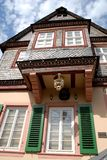 Bacharach house particularly along the Rhine Valley in Germany Royalty Free Stock Photos