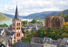 Bacharach am Rhein Royalty Free Stock Image