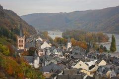 Bacharach, Rhein-Tal, Deutschland Lizenzfreie Stockbilder