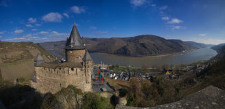 Bacharach / Stahleck/ Castle, Germany Stock Images