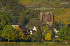 Bacharach Wernerkapelle Royalty Free Stock Photography
