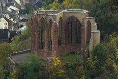 Bacharach Wernerkapelle images libres de droits