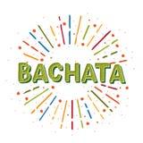 Bachata illustration stock