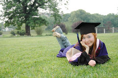 Bachelor of china. Outstanding undergraduate students to obtain Royalty Free Stock Photo