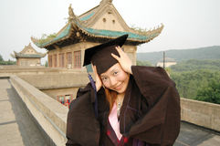 Bachelor of china. Outstanding undergraduate students to obtain Stock Images