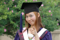 Bachelor of china. Outstanding undergraduate students to obtain Stock Photo