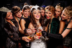 Bachelorette party royalty free stock photography