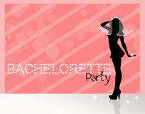 Bachelorette party. Funny illustration of Bachelorette party royalty free illustration
