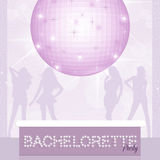 Bachelorette party. Funny illustration of Bachelorette party Stock Photos
