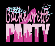 Bachelorette Party sign Stock Images