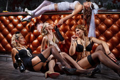 Bachelorette przyjęcie zdjęcia royalty free
