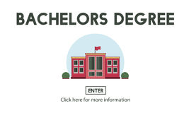 Bachelors Degree Admission School Education Concept Stock Images