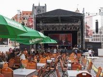 Bachfest Λειψία Στοκ Εικόνες