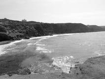 Bachirön och vågor för Sid el och vaggar fotografering för bildbyråer