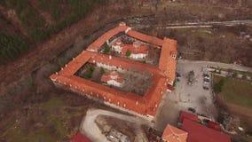 Bachkovo修道院,保加利亚 股票视频