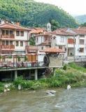 Bachkovo - small town on the shore of a mountain river in Bulgaria Stock Photo