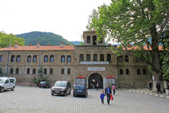 Bachkovski修道院外部 免版税库存图片