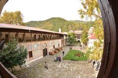 Bachkovski klosterBachkovo Bulgarien Royaltyfria Foton