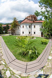 Bachkovsky monastery in the mountains of Bulgaria Royalty Free Stock Photos