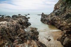 Bachok strand royaltyfria foton