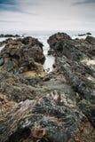 Bachok strand royaltyfri fotografi