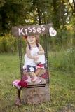 baci fotografia stock