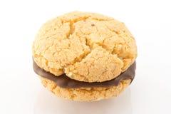 Baci di dama, biscuits Stock Photos