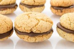 Baci di dama, biscuits Royalty Free Stock Photos