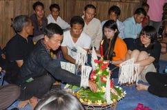 Baci lub Su Kwan ceremonia Fotografia Royalty Free