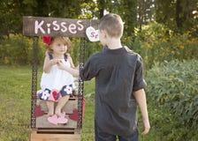 Baci per voi fotografia stock