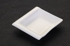bacia branca da porcelana fotografia de stock