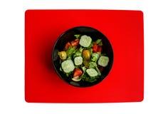 Bacia com salada fresca Imagem de Stock