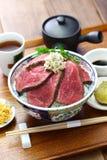Bacia da carne assada de Wagyu Imagem de Stock Royalty Free