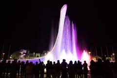 Bacia da chama olímpica em Sochi Fotos de Stock Royalty Free