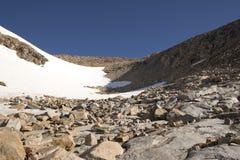 Bacia da montanha do castelo - Montana imagem de stock