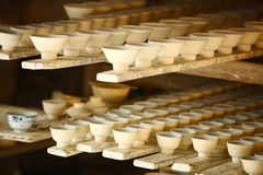 Bacia da porcelana, Jingdezhen China imagens de stock royalty free