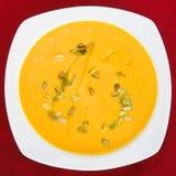 Bacia da sopa vegetal Fotografia de Stock Royalty Free