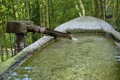 Bacia dada forma barco da água fotos de stock