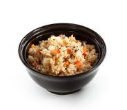 Bacia de arroz Imagens de Stock Royalty Free