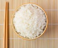 Bacia de arroz cozinhado foto de stock royalty free