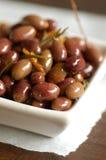 Bacia de azeitonas Foto de Stock Royalty Free