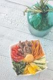 Bacia de bibimbap foto de stock