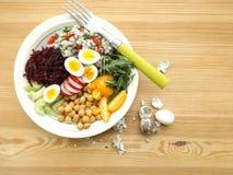 Bacia de buddha do vegetariano Fotografia de Stock Royalty Free