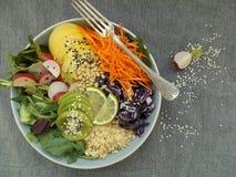 Bacia de buddha do vegetariano Imagens de Stock Royalty Free