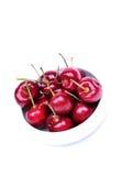 Bacia de cerejas Imagem de Stock