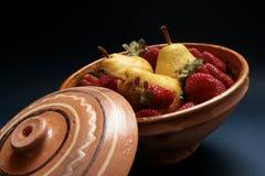 Bacia de fruta foto de stock