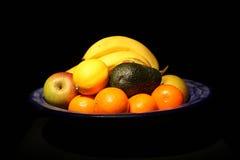 Bacia de fruta. Imagem de Stock