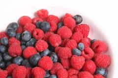 Bacia de fruta do verão Fotos de Stock Royalty Free