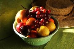 Bacia de fruto Imagem de Stock
