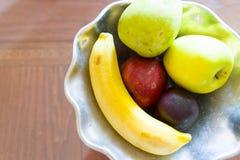 Bacia de fruto Fotos de Stock